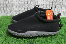 Nike Air Moc Fleece Black/Grey ACG QS Camping Slipper 834591 010 MEN 5/WOMEN 6.5