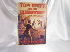 1932 TOM SWIFT & HIS TALKING PICTURES W/ DUST JACKET VICTOR APPLETON - FINE