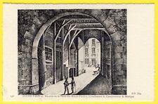 cpa 75 ANCIEN PARIS Dessous de la PORTE des MENUS PLAISIRS CONSERVATOIRE MUSIQUE