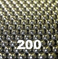 """200 Qty """"Falling Rain"""" Nature Chime Replacement Steel Balls"""