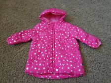 CHILDREN'S PLACE brand girl's sz 6-9 months NWT pink w/stars puffer jacket