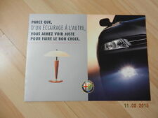 Catalogue ALFA ROMEO 166