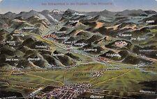 AK Das Schlachtfeld in den Vogesen Das Münstertal Postkarte