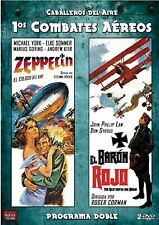 Zeppelin and The Red Baron - UK Region 2 DVD Michael York, Etienne Périer NEW