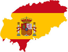 "Auto Aufkleber ""Ibiza"" Spanien Spain Decal Sticker!"