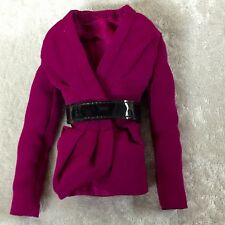 INTEGRITY TOYS NU FACE DOMINIQUE ELECTRIC ENTHUSIASM JACKET WITH BELT NEW