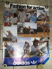 """Vintage ADIDAS Advertising Poster """"Fashion for Action"""" All-Sports People"""