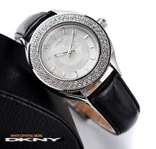DKNY LADIE'S CRYSTAL LUXURY CRYSTALS DRESS STYLE WATCH NY4403