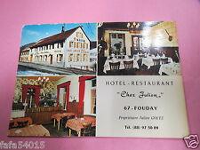6750 67 FOUDAY HOTEL RESTAURANT CHEZ JULIEN