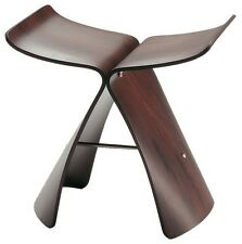 Sedia stool Butterfly Vitra Design. Wenge Originale NEW