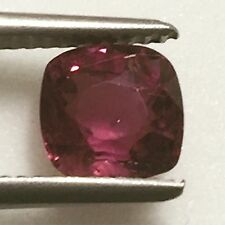 Natural 1.99 Carat Pink Raspberry Sapphire Genuine Loose Gemstone Square Cushion