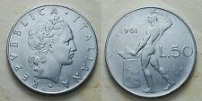 1961  Repubblica Italiana   50   lire