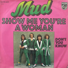 "7"" 1975 GLAM ! MUD : Show Me You´re A Woman / MINT-?"