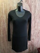 Alt Bella Swan AW BLACK Fitted Long Sleeve Tee Dress ONE SIZE XS/S