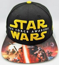 STAR WARS The Force Awakens Viza Print NEW ERA 9FIFTY Snapback Cap Hat New