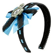 ALICE IN WONDERLAND~Headband+Cameo+Bows~Timepiece~Clock~Costume~NWT~Disney Store