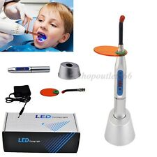 5-40s Wireless Dental Silver LED Cure Curing Light Lamp lámpara de curado 1500mw