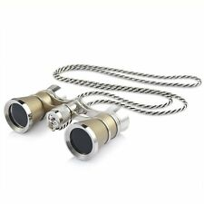 Uarter Opera Glasses Theater Vintage Binoculars with Chain Necklace