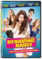 Behaving Badly (DVD) Selena Gomez, Nat Wolff, Mary-Louise Parker NEW