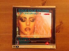 SIGUE SIGUE SPUTNIK 1986 Vinyl 45rpm Single 21ST CENTURY BOY