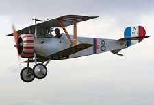 Giant 1/3 Scale French WW-II Nieuport 17 Biplane Plans and Templates