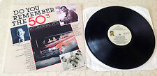 """VARIOUS (LP) -  """"DO YOU REMEMBER THE 50´S"""" [COASTERS/BILL HALEY/HAPPY DAYS...]"""
