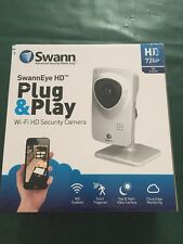 New Swann ADS-453 SwannCloud HD 720p Plug & Play Wi-Fi Wireless Security Camera