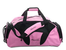 Girls Ladies Large Pink Dance Ballet Tap Kit Holdall Sports Bag KB81 By Katz
