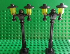 LEGO Custom Street Lamps x 2 (Type II) Friends City Train Harry Potter RARE