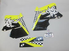 Suzuki RM125 RM250 2001-2010 One Industries Scacchi kit grafica 1G45
