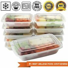 300 Meal Prep Containers with Lids Reusable Microwaveable Plastic  Food Portion