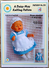 DOLLS KNITTING PATTERN no. 278 for BABYBORN.by Daisy-May.