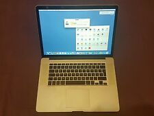"Apple MacBook Pro RETINA 15,4"" 2,6 GHz i7 16 GB RAM 256 GB SSD 2012 Nur 26 mal"