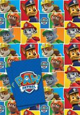Paw Patrol Gift Wrapping Paper & Tags - 2 Sheets & 2 Tags