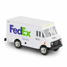 FedEx Ground Diecast Metal Step Van Delivery Replica Truck 1/64 Scale Model New