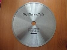 Continuous diamond saw blades 9 inch