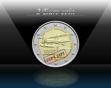 "MALTA 2 EURO 2015  "" First flight from Malta "" Commemorative Coin * UNCIRCULATED"