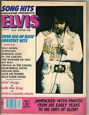 ELVIS PRESLEY Song Hits Magazine WINTER 1980 JAMPACKED PHOTOS 100 HITS