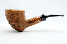 Brand new briar pipe PARONELLI giant freehand handmade rusticated coral