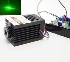 Focusable 12V 532nm 30mW TTL Green Laser Module/Solid Industrial Design w/ fan