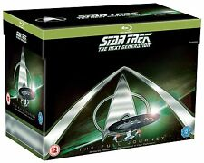Star Trek The Next Generation Season 1-7 Complete Series Blu-ray Boxset New