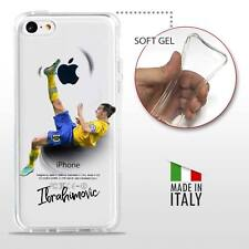 iPhone 5C COVER PROTETTIVA GEL TRASPARENTE Calcio Soccer Football Ibrahimovic