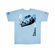 """Vic Elford TR4 Tee-shirt """"Vic Elford Collection"""" by Niicolas Hunziker Size Large"""