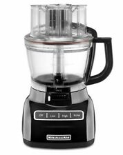 New KitchenAid 13-Cup Wide Mouth Food Processor KFP1355 Big Size Onyx Black