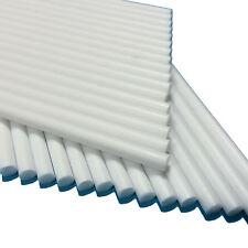"""100 114mm (4.5"""") Solid White Plastic Sticks - Oven Safe Cake Pop Dowels Lollipop"""