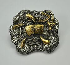 Wikinger Belt Buckle Gürtelschnalle Kelten Thor Odin Mittelalter  *386