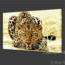 NOT FRAMED 12x19'' Canvas Prints Cheap Pictures Wall Art Home Decoration Leopard