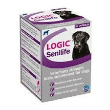 Logic Senilife Dog Supplement  x 30, fast dispatch