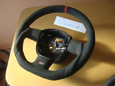 Audi a3 8p 2005-2008 paddle shift RS FLAT BOTTOM CUSTOM Alcantara steering wheel