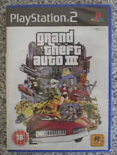 Grand theft auto 3 (iii) pour pal PS2 (new & sealed)
